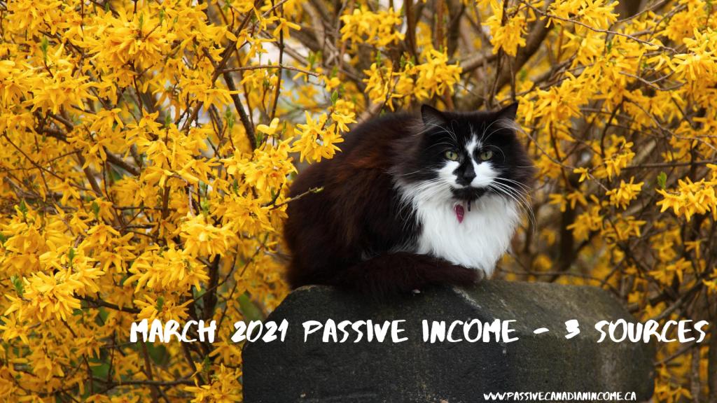 March 2021 Passive income